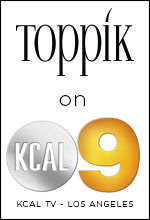 toppik on KCAL 9 tv los angeles