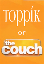 toppik on cbs show live on the couch