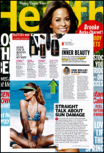 toppik hair building fibers featured in health magazine