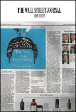 toppik hair building fibers in wall street journal feature