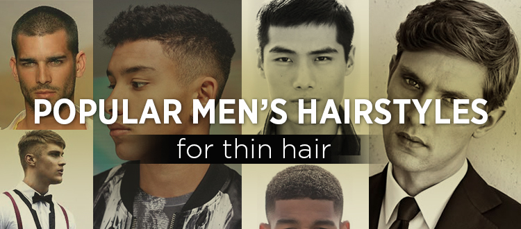 Mens Haircut Styles For Thin Hair: Popular Hairstyles For Men With Thinning Hair