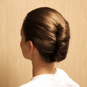 Bridesmaid-hairstyle-french-twist