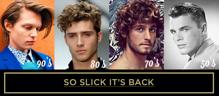 Hair Toppiks Men's Hairstyles Through the Decades