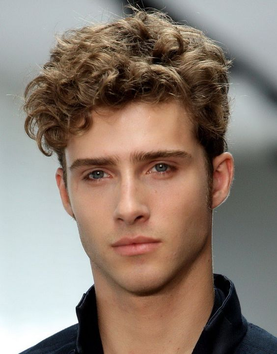 Fabulous 1950S Mens Hairstyles For Curly Hair Short Curly Hair Short Hairstyles Gunalazisus