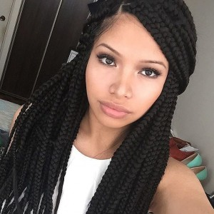 natural hair bantu braids