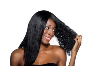 african american women straight hair black