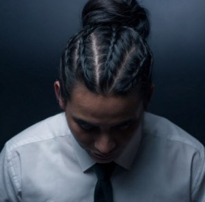 asian mens hair braid