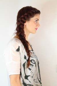 big dutch side braid