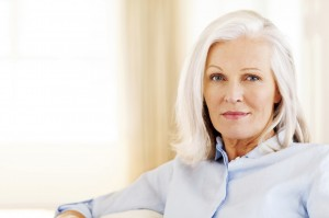 Senior Woman With Blank Expression
