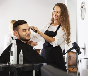 Barber makes the cut for man