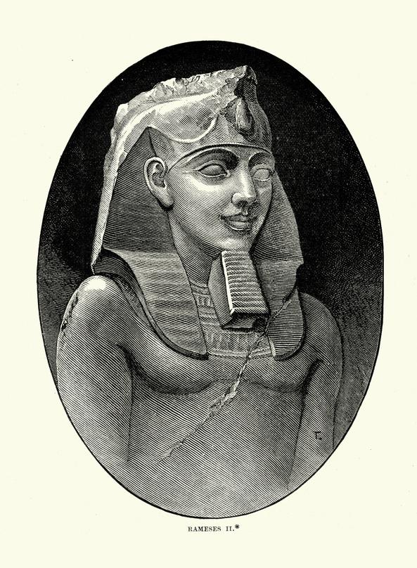 history of beards egyptian pharaoh