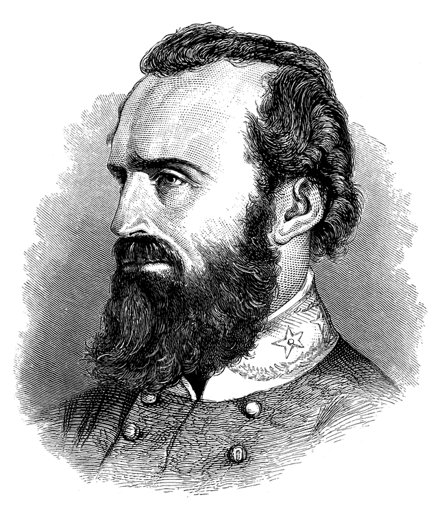 History of Beards - Stonewall Jackson