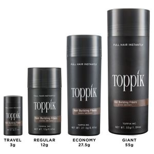 Toppik Fibers in all 4 sizes
