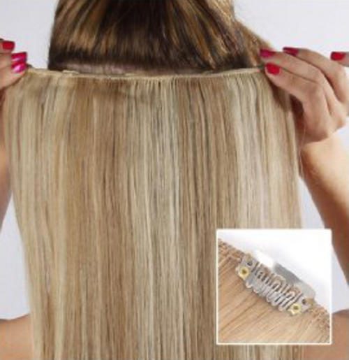 Micro ring extensions for thin hair