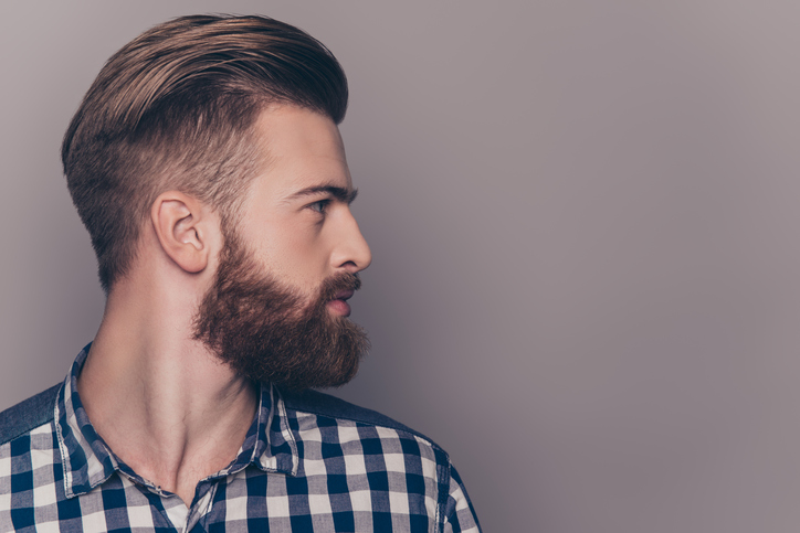 styling a beard with beard fillers