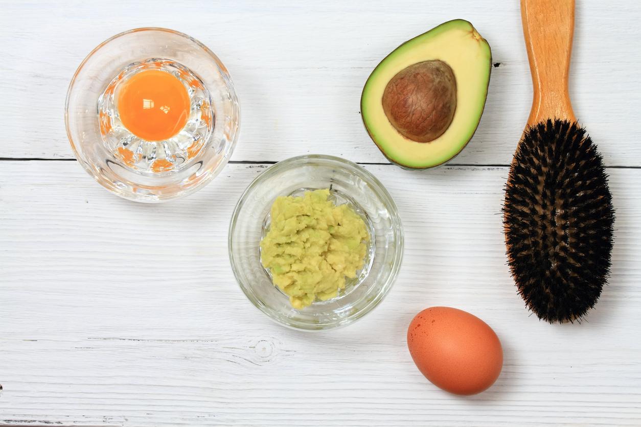 Hair Mask From Avocado And Egg Toppik Blog