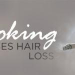 smoking cigarette hand does smoking cause hair loss toppik hair blog