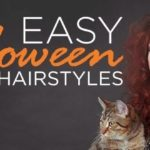 easy halloween hairstyles easy how-to woman costume cat toppik hair blog