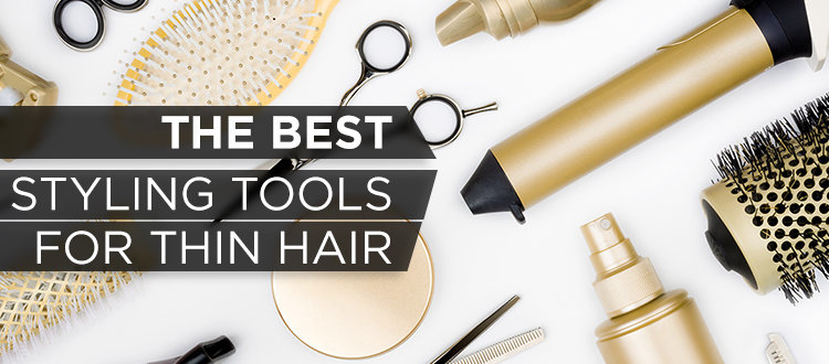 best styling tools thin hair gold curling irons brushes tools toppik hair blog