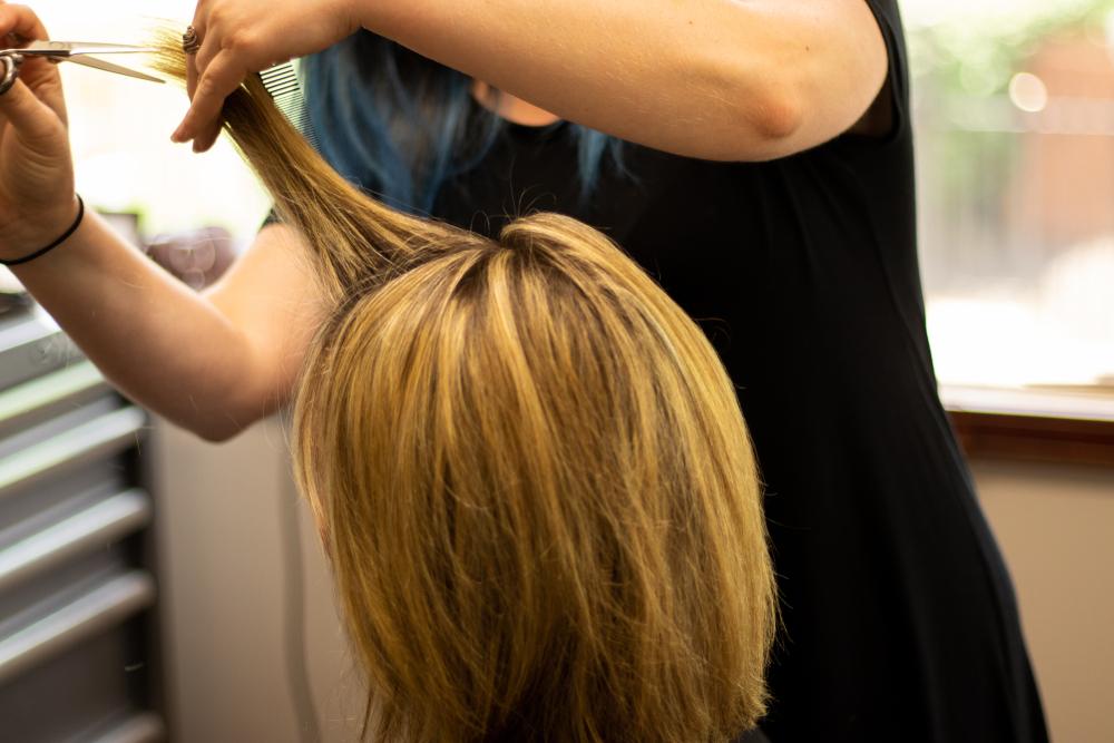 blonde highlights professional hair color salon choosing hair colors for older women toppik hair blog