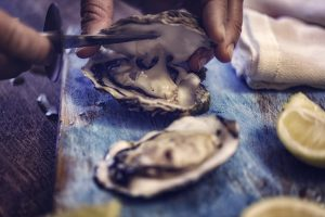 Oysters raw shuck lemon importance of protein for hair growth toppik hair blog