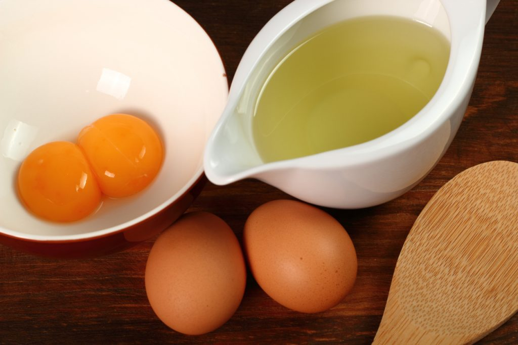 egg yolks olive oil ingredients DIY recipes homemade hair masks for hair growth toppik hair blog