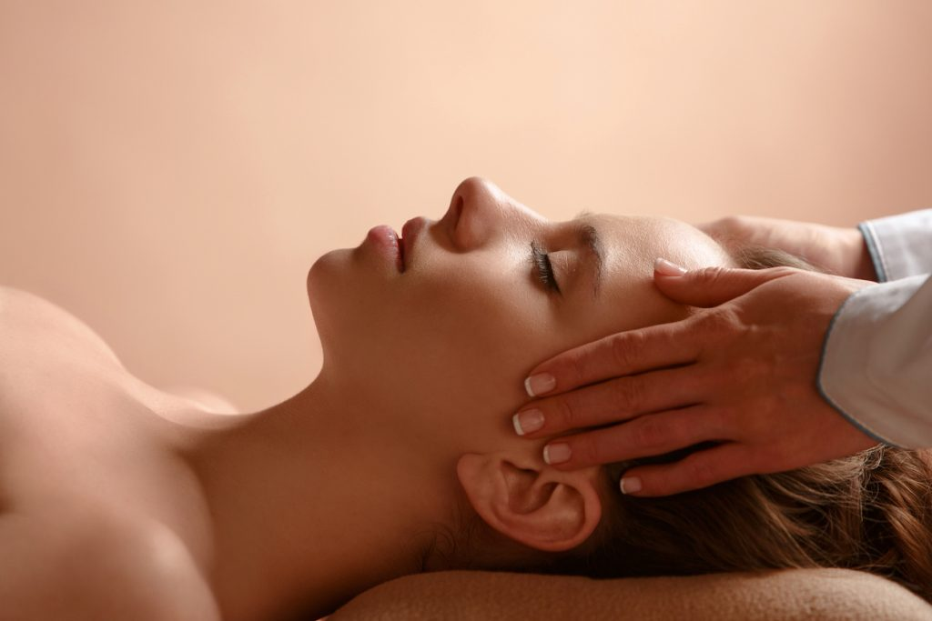 massage woman laying down relaxing can stress cause hair loss? toppik hair blog