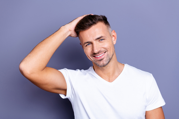 easy men's haircuts at home: the classic fade