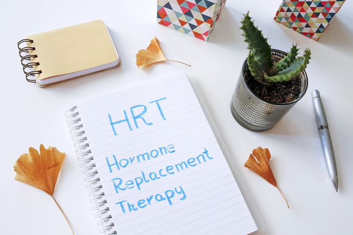 HRT stands for hormone replacement therapy