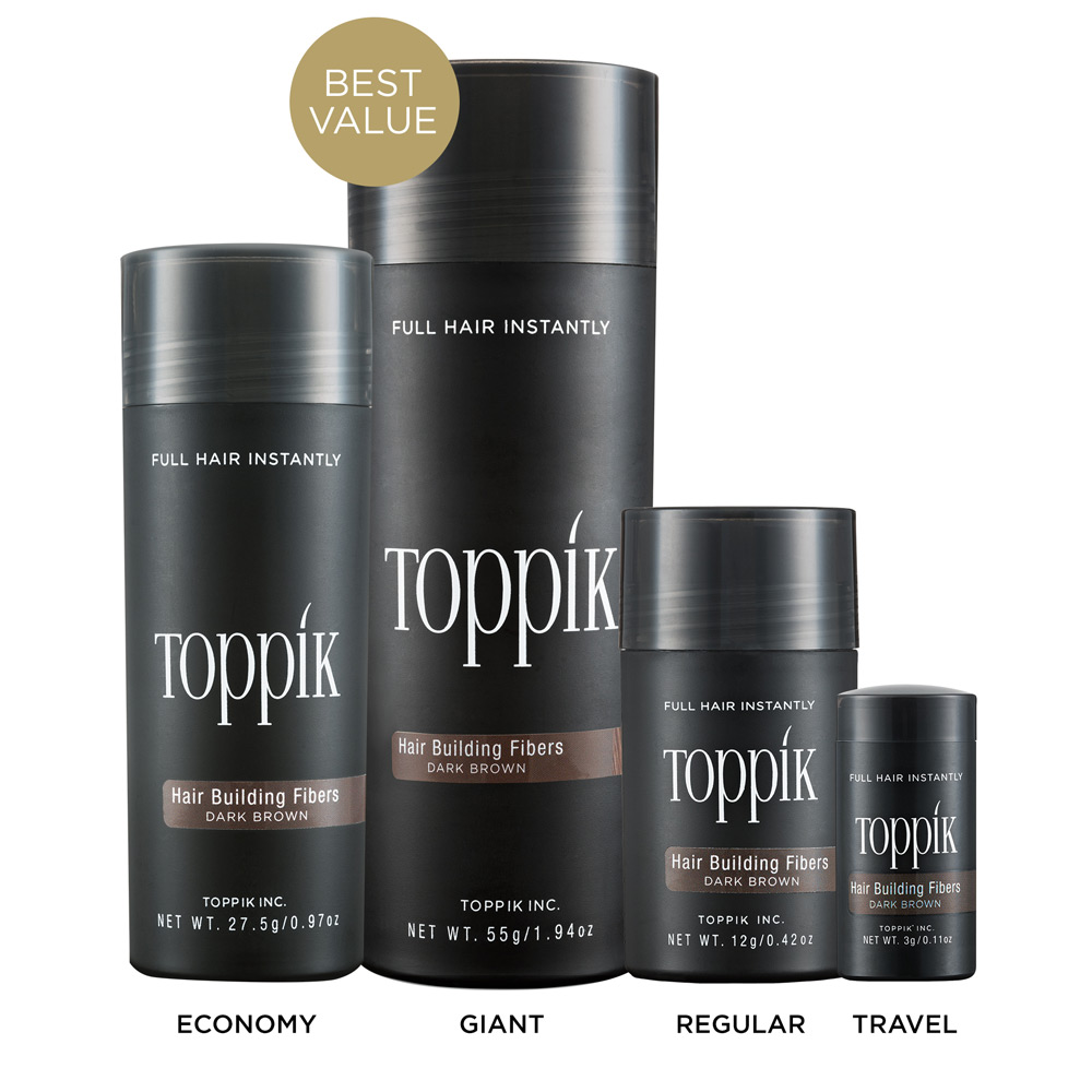 toppik hair building fibers - keratin fibers | toppik