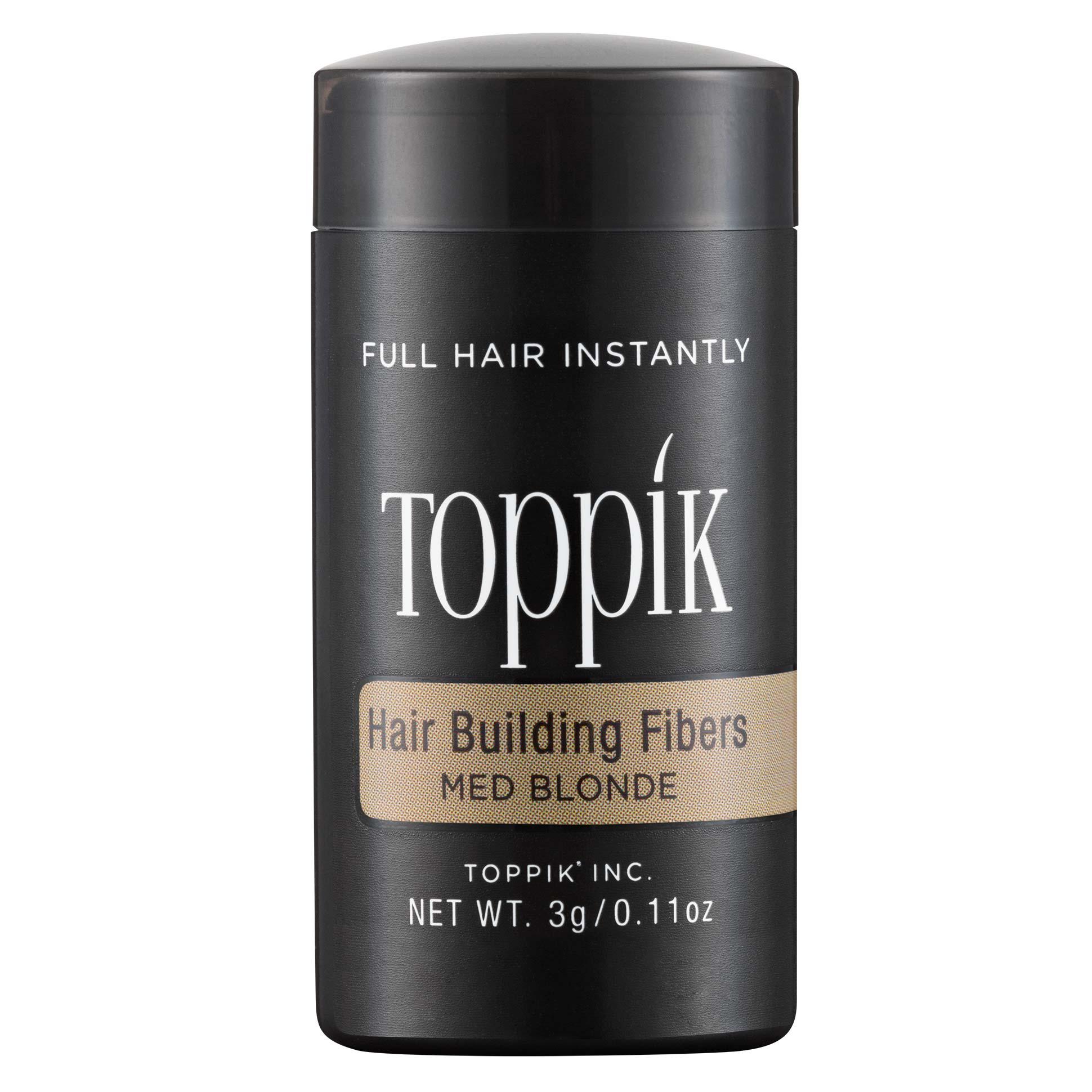 HAIR BUILDING FIBERS - TRAVEL SIZE - MEDIUM BLONDE