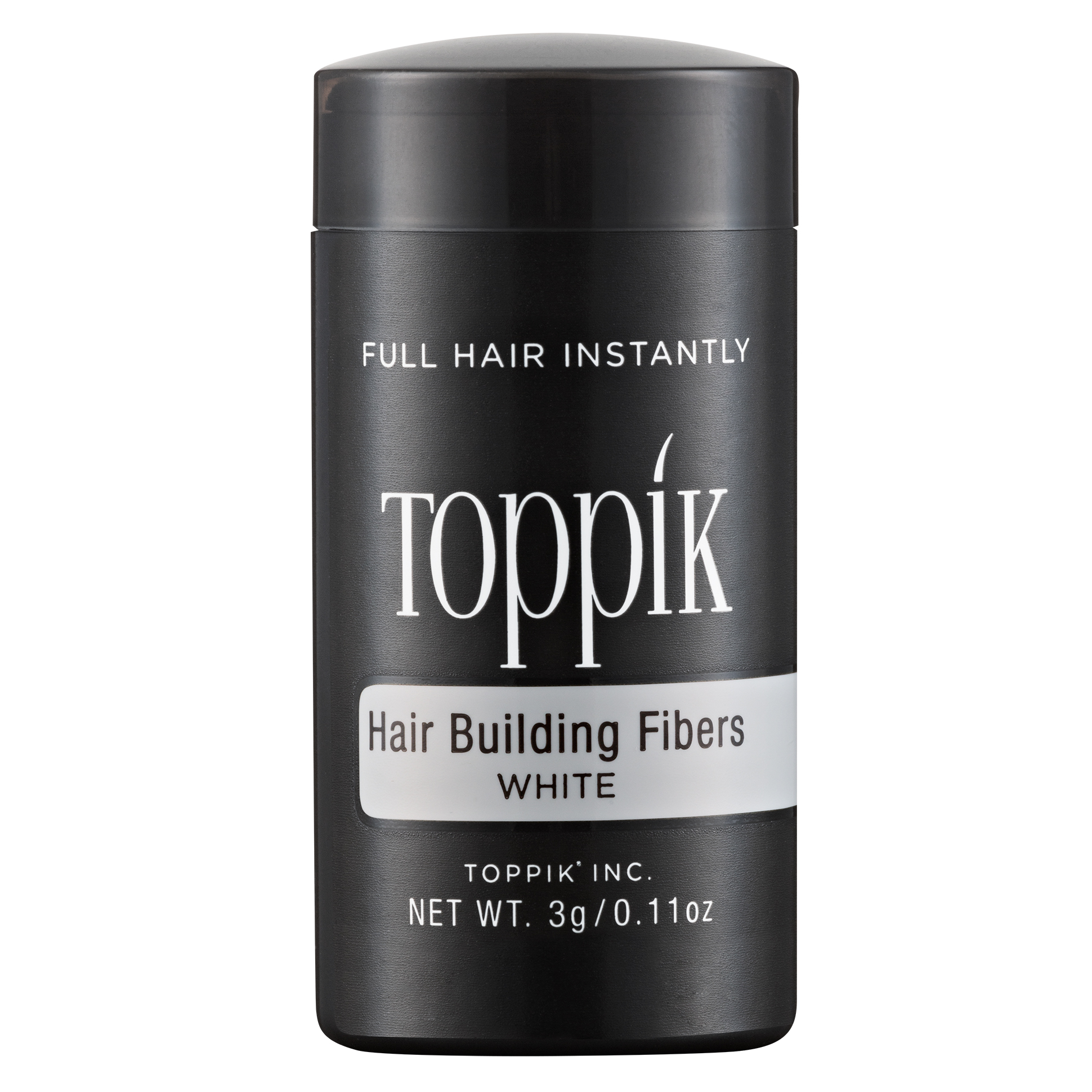 HAIR BUILDING FIBERS - TRAVEL SIZE - WHITE