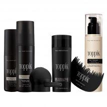 Hair Fibers Supersize TV Offer Gray + Gifts + Sprays + Fattener