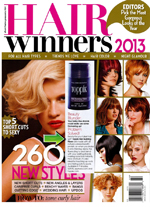 toppik hair building fibers featured in short hair magazine