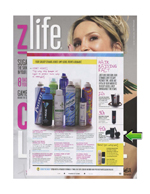 toppik hair building fibers featured in z life magazine